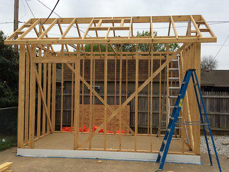 Building, Shed, Construction, Storage, House