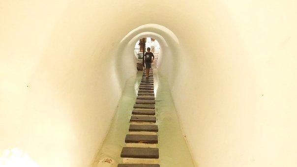 Passage, Hall, Tunnel, Test, Balance