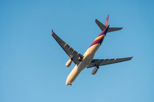 Airplane, Flying, Plane, Flight, Travel, Fly, Sky, Air