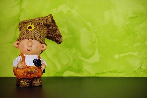 Imp, Spring Imp, Decoration, Dwarf, Cute, Figure
