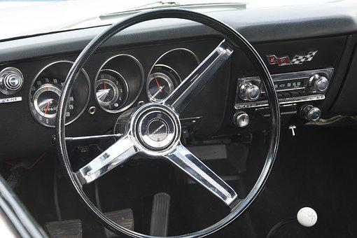 Chevrolet Corvair, Dashboard, Classic Car, Sports Car