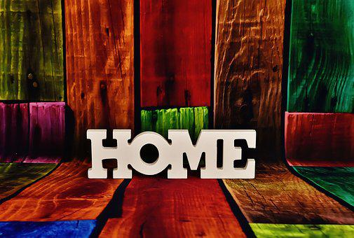 Lettering, Home, Letters, Decoration, At Home