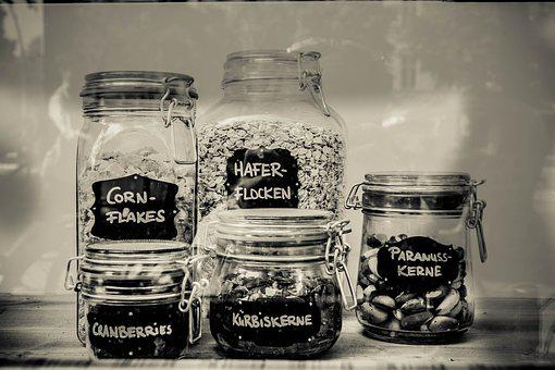 Glasses, Kitchen, Eat, Deco, Container, Make A, Budget