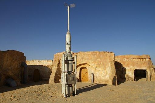 Desert, Tunisia, Nature, Landscape, Sand, Star-wars