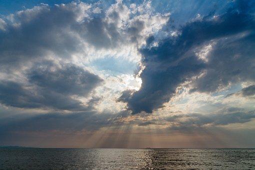 Sunset, Tropical, Sea, Ocean, Travel, Sun, Beach, Sky