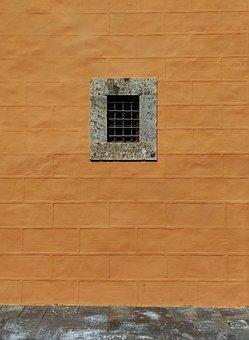 Window, Grating, Facade, Wall, Opening, Cloister