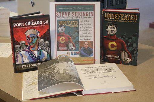 Autographed Books, Author Visit, Book Display, Books