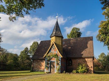 Chapel, John Chapel, Church, Church Clock, Steeple