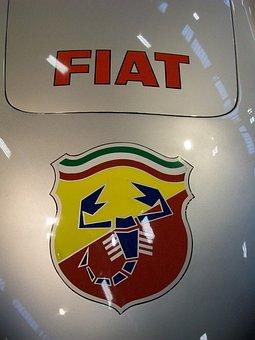 Auto, Fiat, Abart, Vintage Car, Machines