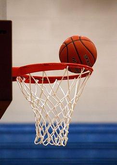 Basketball, Net, Score, Rim, Hoop, Ball, Goal, Action