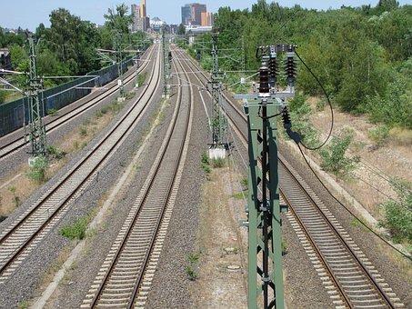 Railway, Seemed, Gleise, Train, Rail Traffic, Catenary
