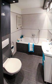 Bathroom, Wc, Bath, Mirror, Apartment, Room, House
