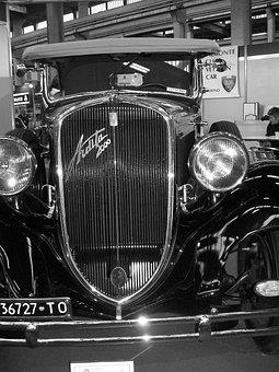 Auto, Era, Autotronics, Vintage Machine, Vintage Car