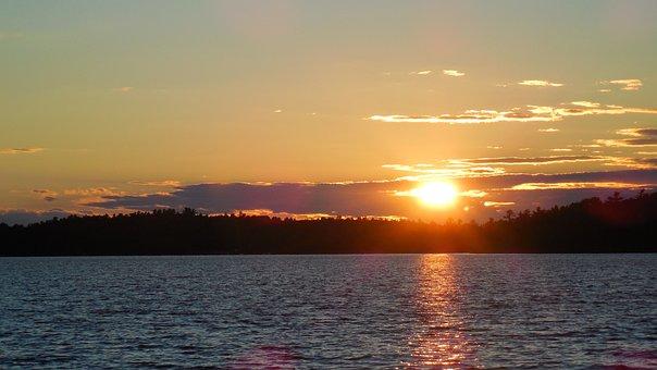 Sunset, Sky, Canada, Color, Sunlight, Dusk, Horizon