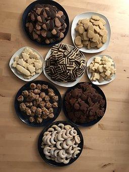 Christmas, Cookies, Cookie, Sugar, Bake, Baking Cookies