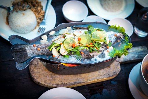 Fish, Food, Thai, Thailand, Dinner, Meal, Nutrition