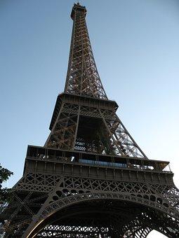Eiffel Tower, Paris, France, Europe, Landmark, Tower