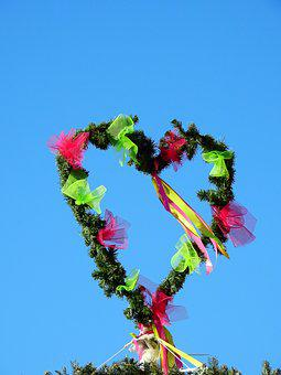Heart, Love, Carnival, Move, Maypole, Celebration