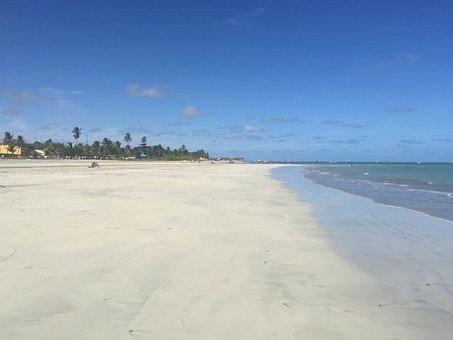 Beach, Maceió, Sand, Travel, Sol, Mar, Alagoas, Tourist