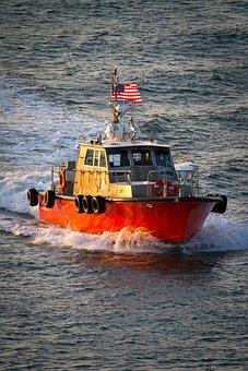 Tug, Pilot, Captain, Harbor, Boat, Ship, Nautical, Sea