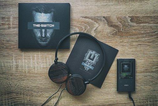 Music, Player, Electronics, Music Player, Headphones