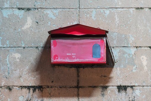 Mail, Box, Post, Send, Postal, Letter, Symbol