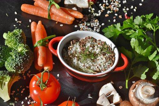 Rice, Mushrooms, Risotto Rice, Brown Mushrooms