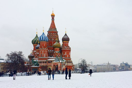 Moscow, Church, Russian, Russia, Orthodox, Capital
