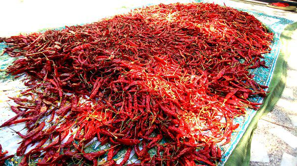 Red, Chilly, Pepper, Hot, Spice, Seasoning, Chili