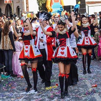 Carnival, Parade, Girls, Sexy, Dancers, Dress