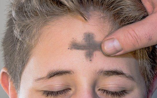 Aschermittwoch, Ash Cross, Sign Of The Cross, Cross