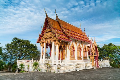 Thailand, Temple, Asia, Travel, Wat, Architecture