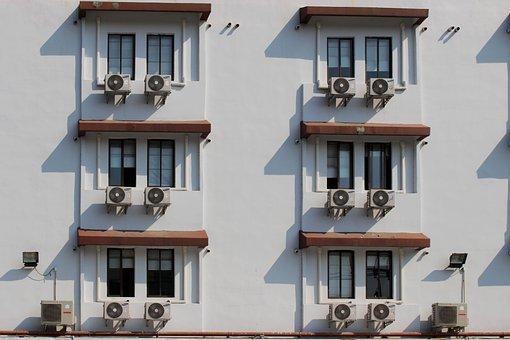 Air Conditioner, Hotel, Air, Conditioner, Icon