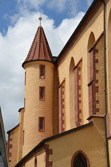 Church, Tower, Faith, Bell Tower, Germany, Architecture