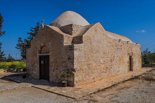 Cyprus, Ormidhia, Ayios Georgios Agkonas, Church