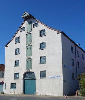 Sielhafen, Museum, Granary, Carolinensiel, East Frisia
