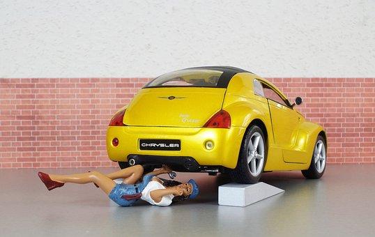 Model Car, Chrysler, Cruiser, Model, Auto, Toys