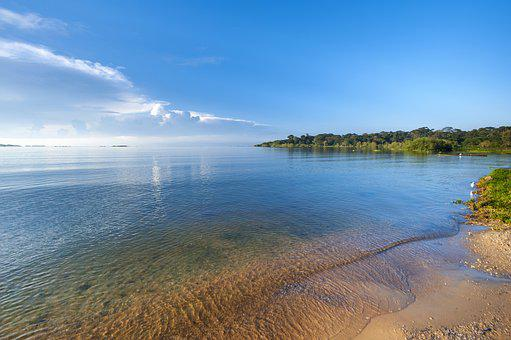 Lake Victoria, Beach, Africa, Uganda, Landscape, Lake