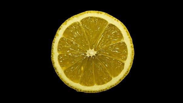 Lemon, Sour, Fruit, Yellow, Vitamins, Macro
