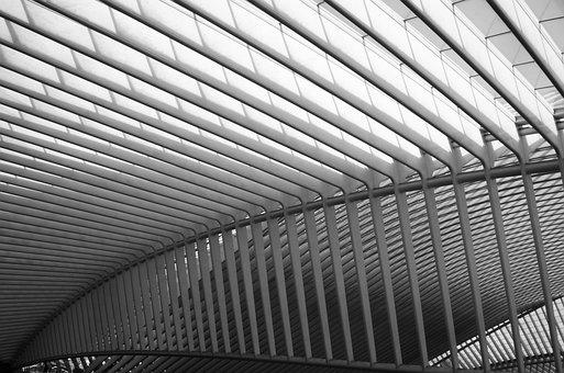 Architecture, Symmetry, Building, Repetition, Lines