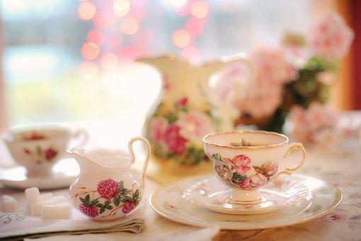 Tea, Tea Party, Pink, Party, Teapot, Afternoon