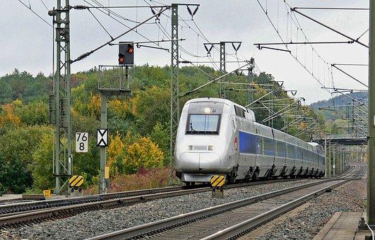 Tgv, Sncf, High-speed Rail Line, Germany
