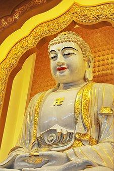 China, Yixing Jiangsu, Buddha Statues