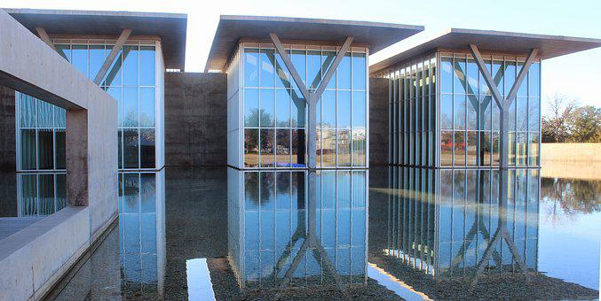 Museum, Architecture, Reflection, Building