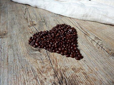 Coffee, Coffee Beans, Beans, Caffeine, Roasted