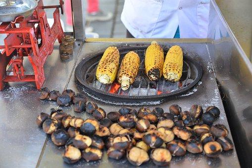 Corn, Chestnuts, Istanbul