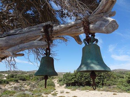 Church Bell, Greece, Kos, Brass