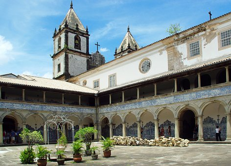Brazilwood, Bahia, Sao Francisco, Cloister, Convent