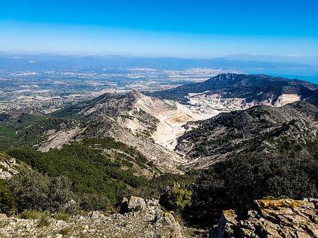 Quarry, Costa Del Sol, Mijas, Sierra De Mijas