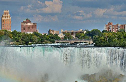 Niagara Falls, Water Masses, Places Of Interest